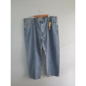 MENS LEVI'S JEANS 550 RELAXED FIT 50x30 NWT